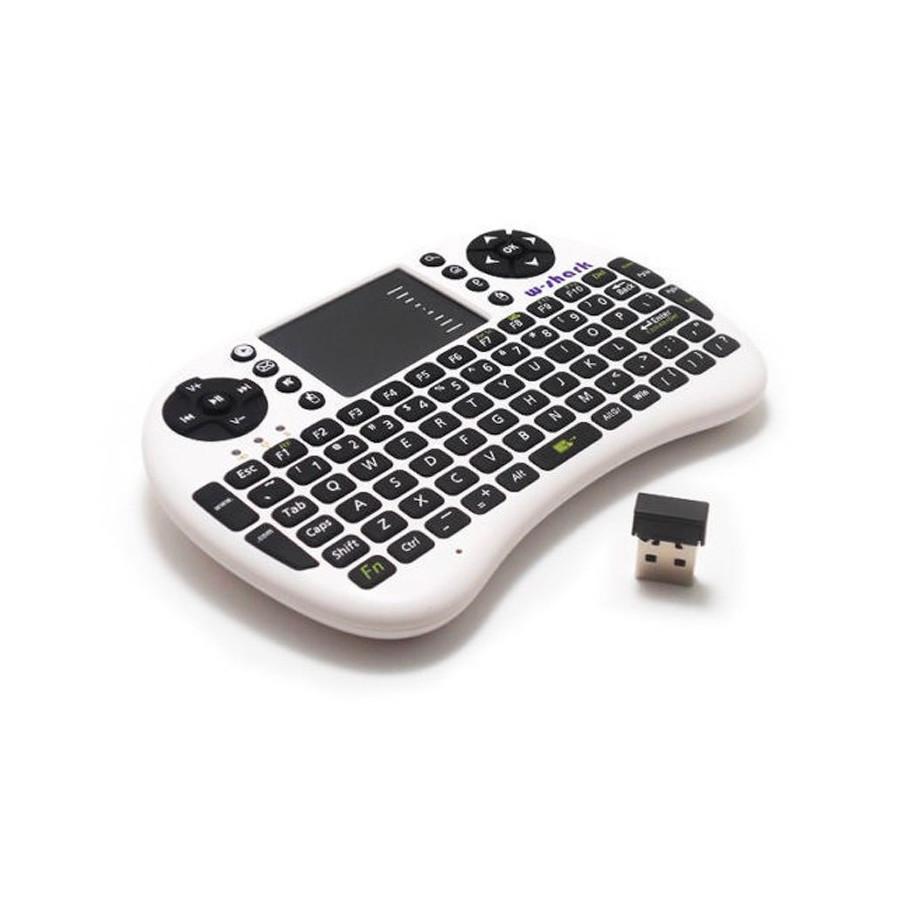 Mini teclado inalámbrico con panel táctil