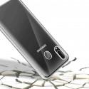 Samsung Galaxy A20e (funda doble gel transparente)