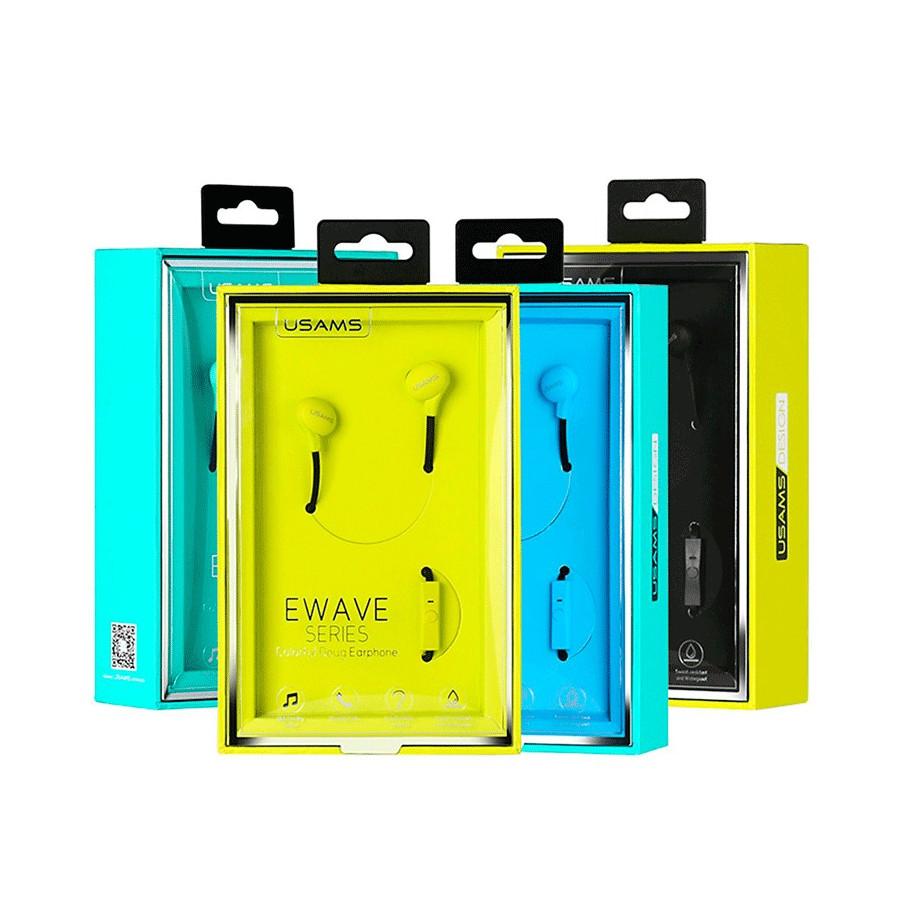Usams Auriculares Ewave Series - Earphone Colorido Doug