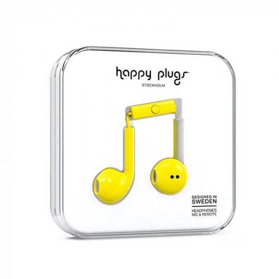 Happy Plugs Auriculares - Headphones - Mic & Remote