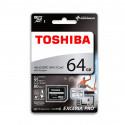 Toshiba Tarjeta Memoria 64GB - M401 - Con adaptador
