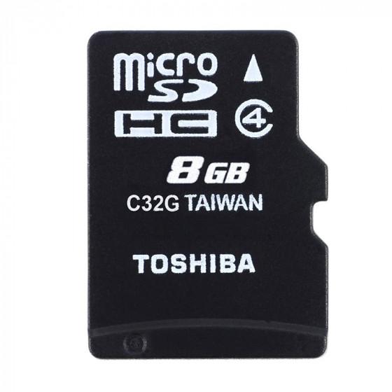 Toshiba Tarjeta Memoria 8GB - M102 - Con adaptador