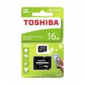 Toshiba Tarjeta Memoria 16GB - M203 - Con adaptador