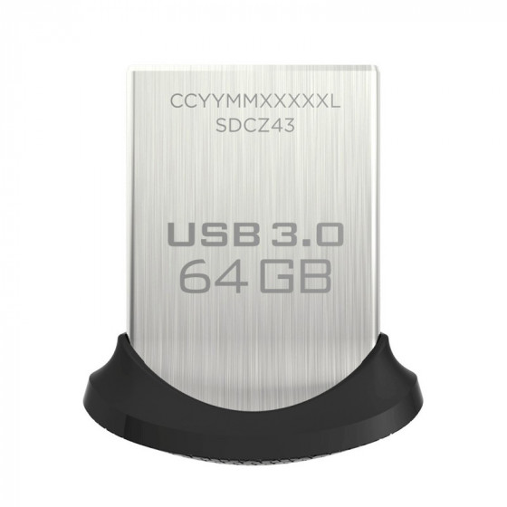 SanDisk Ultra Fit 64GB Pendrive - USB 3.0