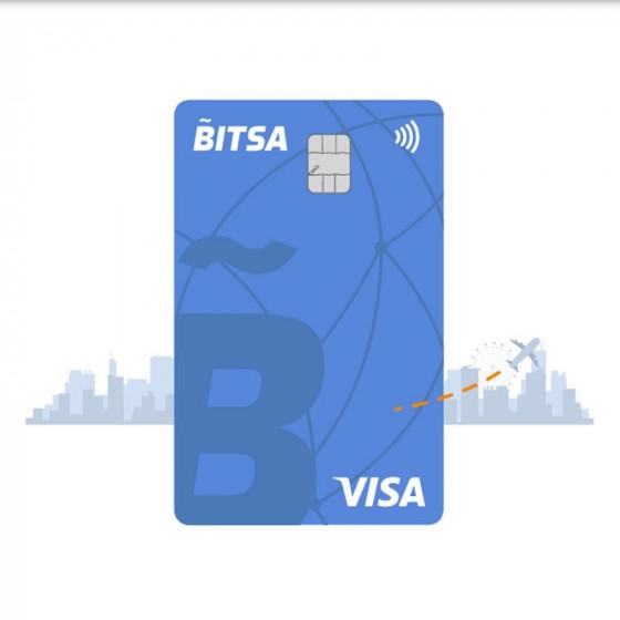 Recarga de Visa BITSA física o virtual - Saldo 20 euros