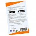 Recarga de tarjeta Visa BITSA física o virtual - Código para añadir saldo - Puedes pagar con PayPal