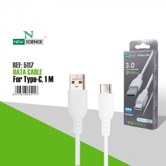 Cable New Science Fast Charger - 3.0 - USBC