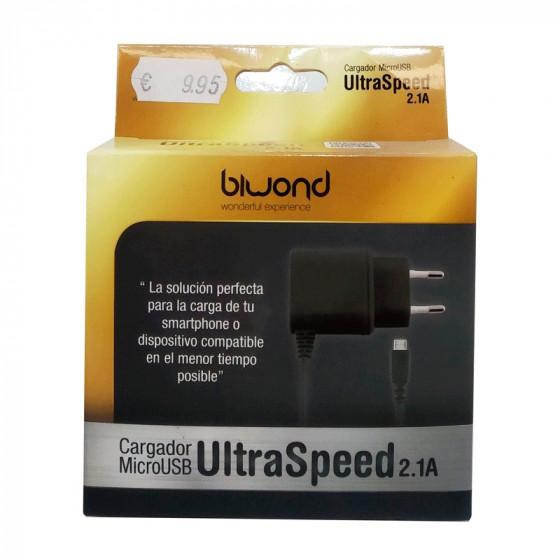 Biwond Cargador microUSB - Ultra Speed 2.1A