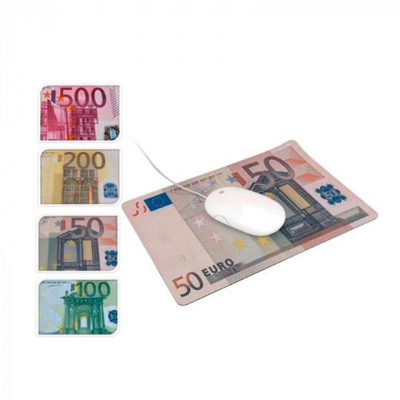 Alfombrilla para ratón diseño billetes de Euro
