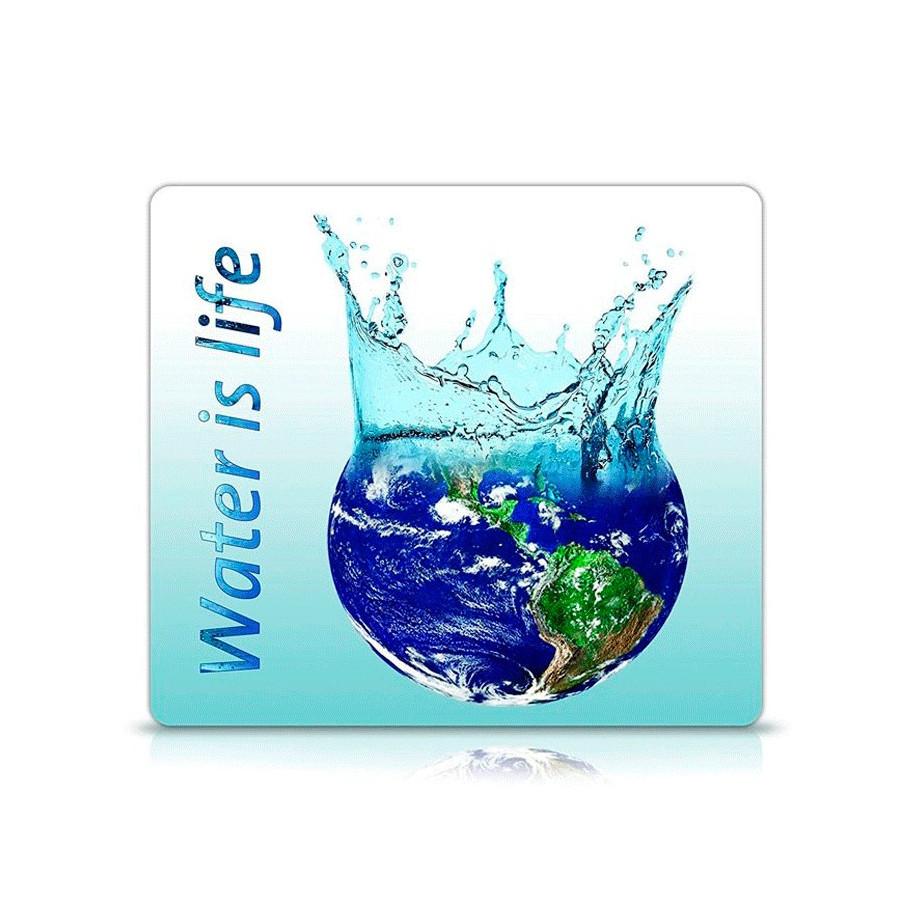 Alfombrilla para ratón diseño ecológico - Water is Life