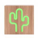 Altavoz Bluetooth Cactus Neón - CBLNEONINDUCACTL