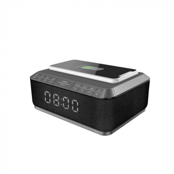 Radio despertador base carga inalámbrica móvil - RR140IG