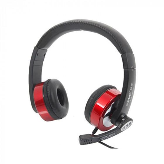 Auriculares estéreo USB - KM-8500 - KOMC