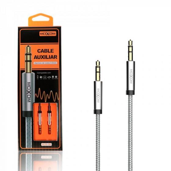 Cable auxiliar Audio Jack a Jack MOXOM AUX-08