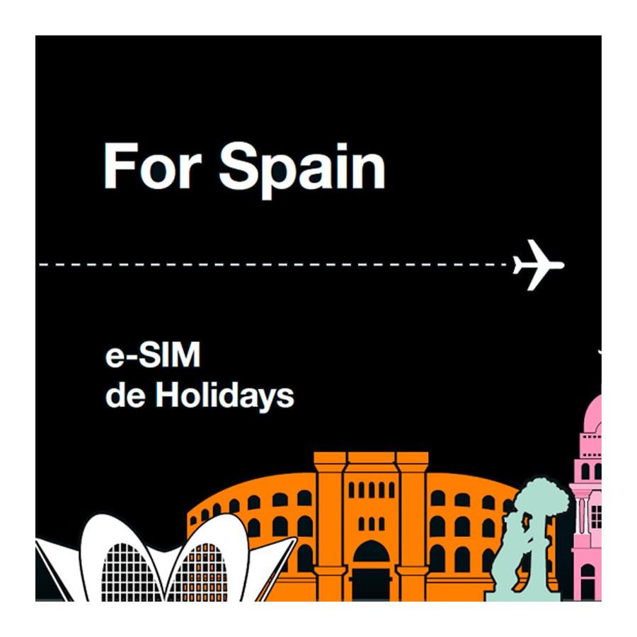 Tarjeta SIM Prepago Orange Holidays Spain