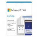 Código PIN licencia 1 año Microsoft 365 Familia (6 personas)