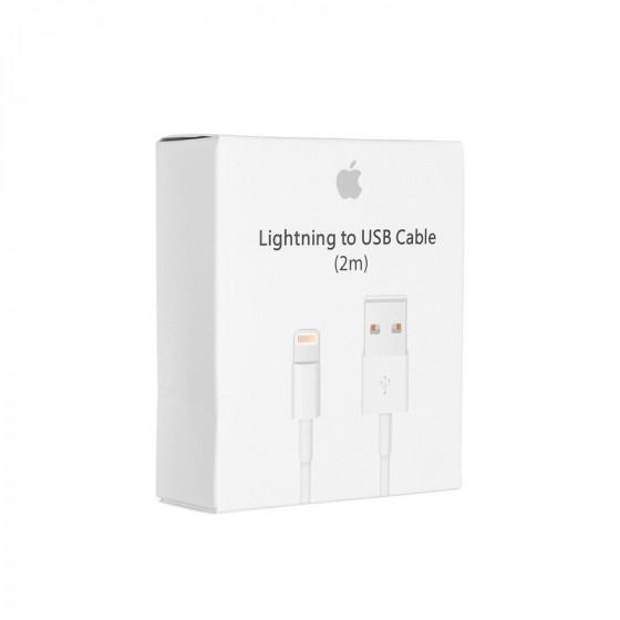 Apple iPhone cable 2M Original IC - Lightning a USB