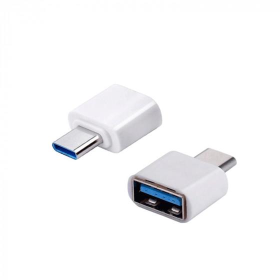 Adaptador OTG USB 3.0 a USB-C (USB-C hembra a USB-A macho)