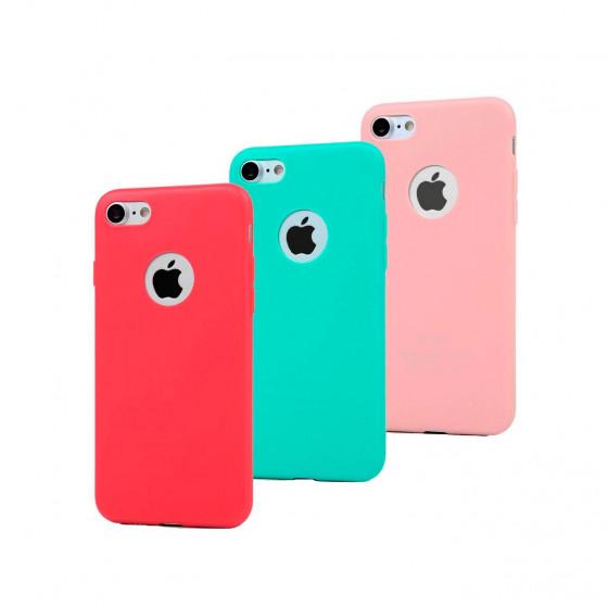 iPhone 7 (funda silicona trasera)
