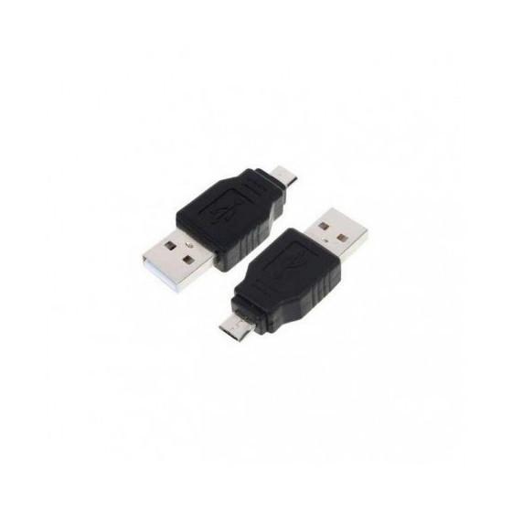 Adaptador USB 2.0 a Micro USB, tipo A/H-B/M