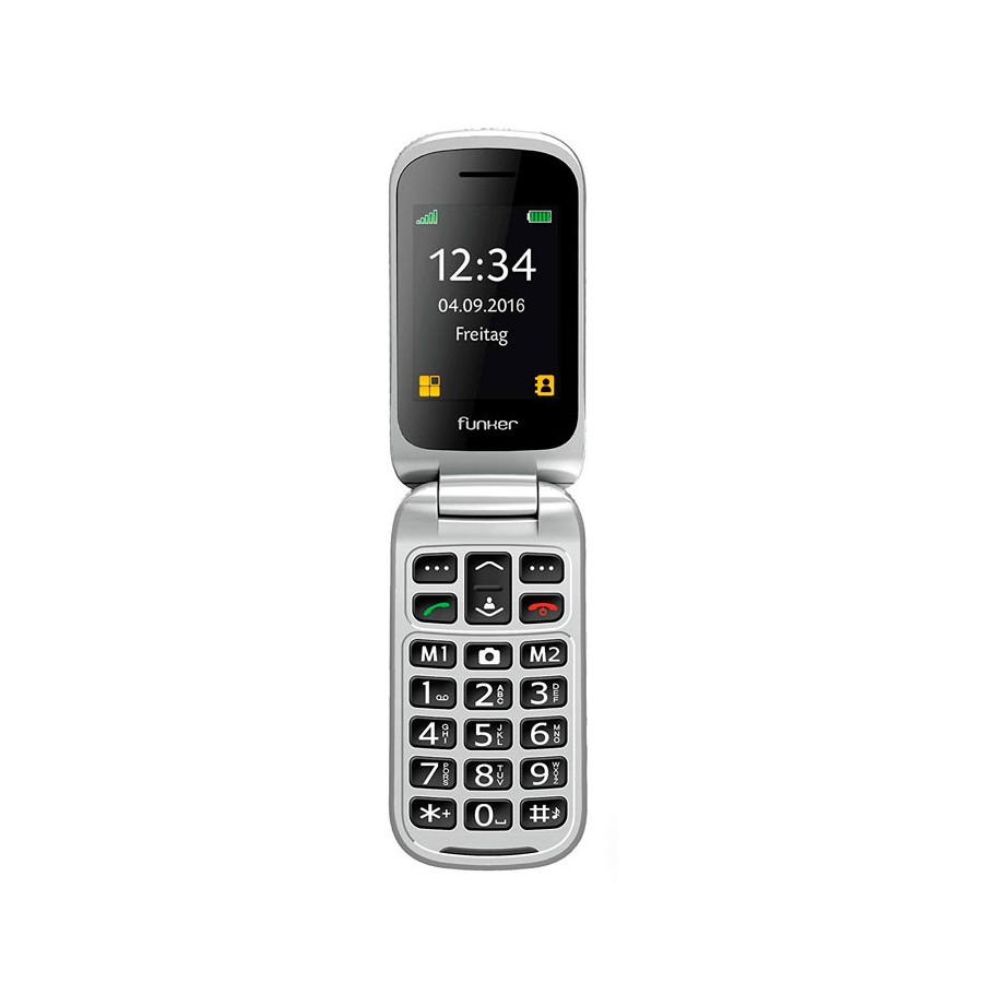 "Funker C85 Easy Plus - pantalla color TFT 2,4"" - Bluetooth"