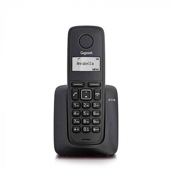 Gigaset A116 - Inalámbrico - Dect Phone - Agenda