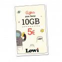 Tarjeta regalo Lowi - Disfruta de 10GB extra tres meses