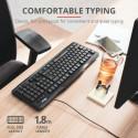 Teclado cableado clásico Trust - Classicline Keyboard