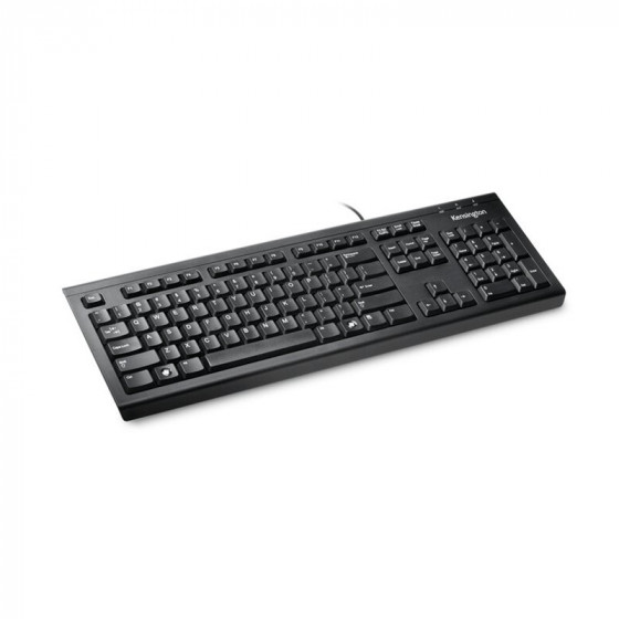 Teclado ValuKeyboard cable - Kensigton - USB - Antiderrames
