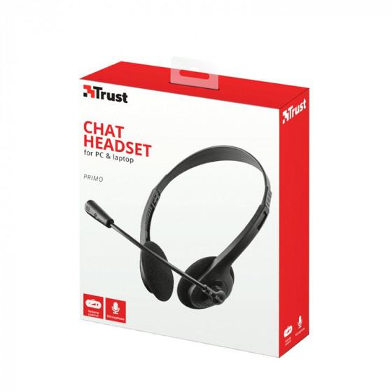 Auricular Pc y Laptop con micrófono - Primo Chat - Trust