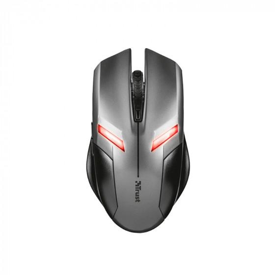 Ratón de precisión Ziva Gaming Mouse Trust - 6 botones - LED