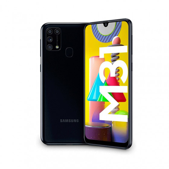 "Samsung Galaxy M31 - 6,4"" - 4+64GB - Quad Cam 64MP - 6000mAh"