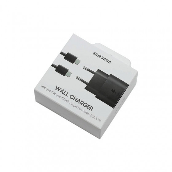 Cargador red Samsung Travel Adapter - Tipo C/ Tipo C - 25W