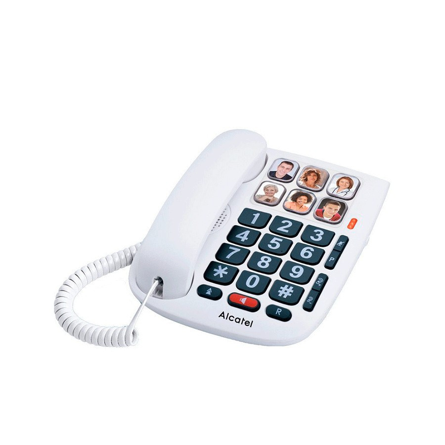 Alcatel TMAX10 - Teléfono fijo con 6 memorias con fotos