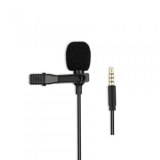 Micrófono MKF01 para smartphone con entrada jack 3,5mm