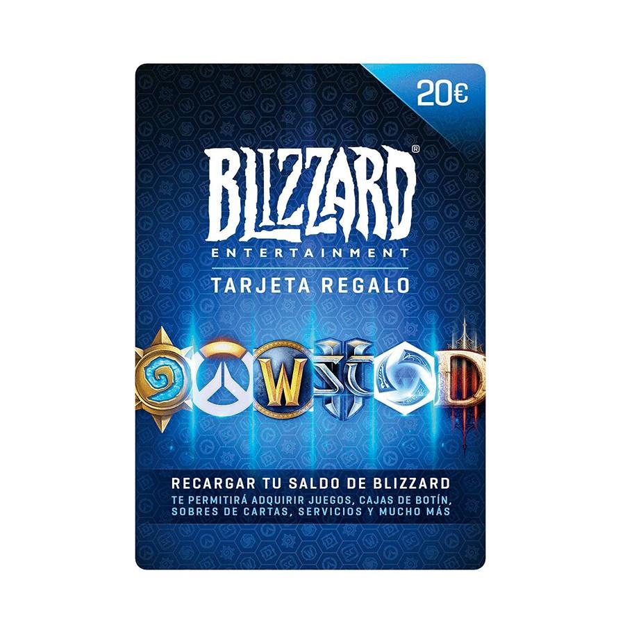 Tarjeta regalo Blizzard Entertainment - Saldo 20 euros