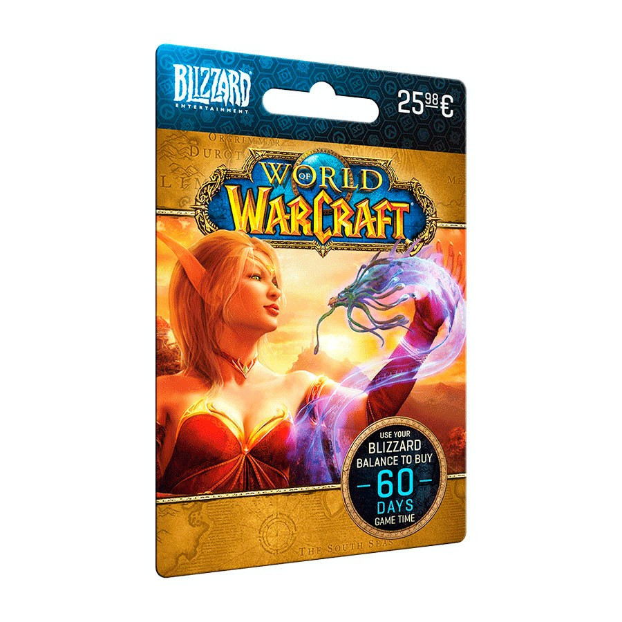 Tarjeta regalo World of Warcraft (Blizzard) - Saldo 25,98 e