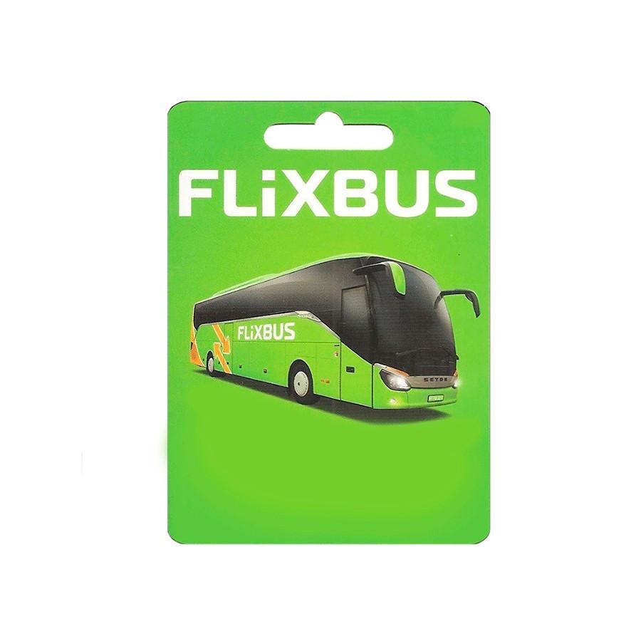 Código canjeable en Flixbus - Transporte en autobús de larga distancia