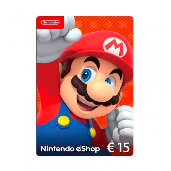 Código digital canjeable por saldo para comprar en Nintendo