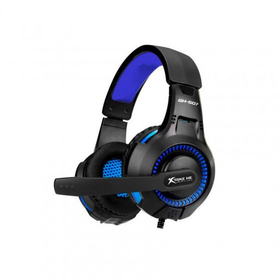 Auriculares Gaming Xtrike-Me GH-507 - PC/PS4 - Diseño circumaural/ estéreo - Micrófono omnidireccional