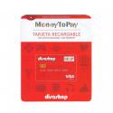 Tarjeta Visa prepago recargable MoneyToPay (M2P) - SIN SALDO