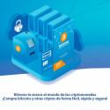 Código digital canjeable en Bitnovo - Puedes pagar con PayPal - Saldo para comprar Bitcoin y criptomonedas