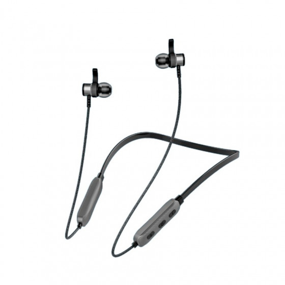 Auriculares Bluetooth BWOO BW-350 - Inalámbricos + mic - Correa al cuello - Batería 6 horas
