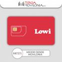Tarifas móviles de Lowi - Bono 10GB extra GRATIS - 4G Vodafone acumulable y compartible