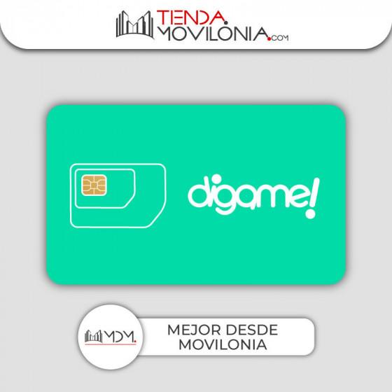Tarifas móviles de Dígame! - llamadas ilimitadas y 4G - REGALO a elegir - Cobertura Orange 4G