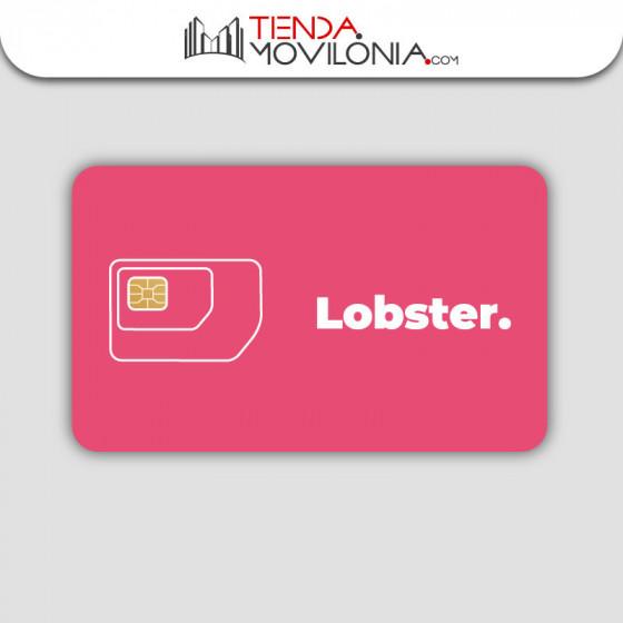 Tarjeta SIM prepago Lobster - llamadas y SMS ilimitados - 4G - hasta 35GB