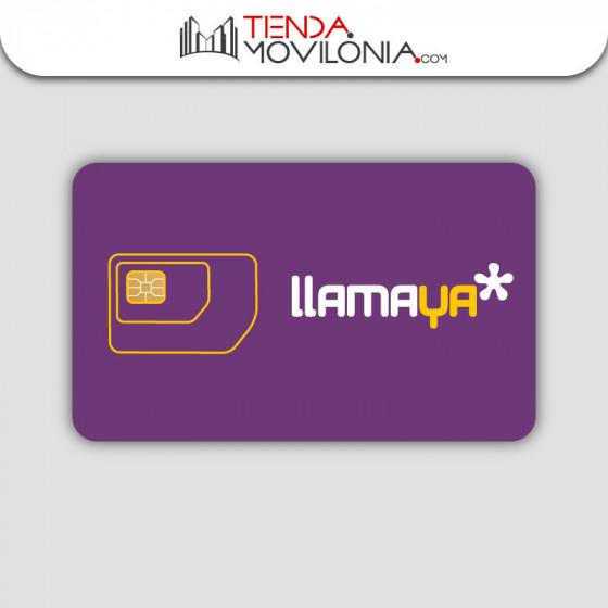 Tarjeta SIM prepago Llamaya Planazo Internet en casa - 120GB - Cobertura Yoigo y Orange