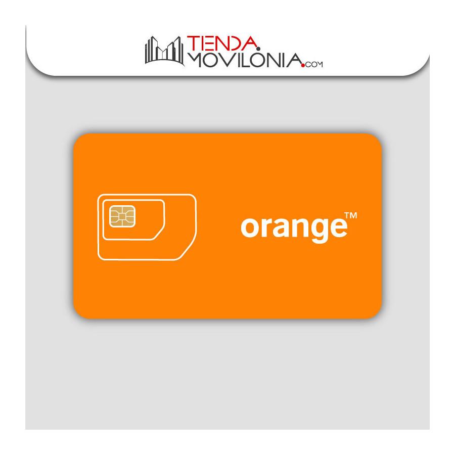 Tarjeta SIM prepago Orange Mundo - con saldo - Internet 4G+