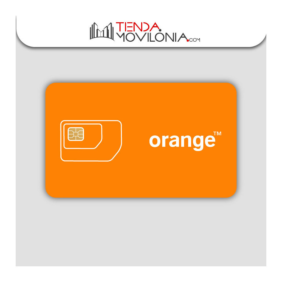 Tarjeta SIM Prepago Orange Holidays Spain - 40GB + 50 minutos internacionales