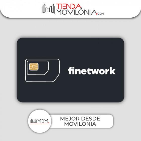 Tarifas móviles de Finetwork - Llamadas, SMS y 4G acumulable y compartible - Cobertura Vodafone